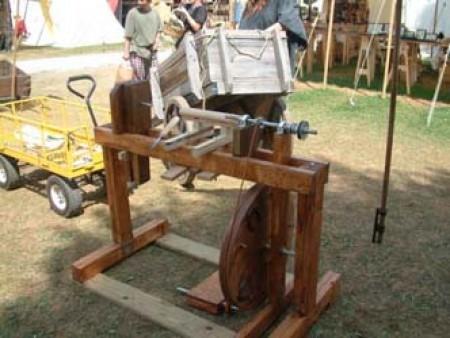 No store: Homemade wood duplicator machine
