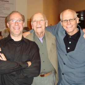 Harold Garde with Bill Shafer and Marc MIddleton