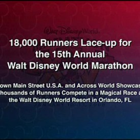 Disney Marathon Video.mov snap shot