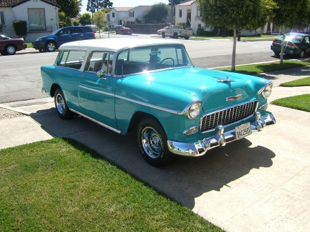 Our 1955 Chevy Nomad