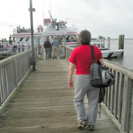 Catching the Cumberland Island ferry