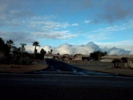 Cool Cloud Formation after a cloudy rainy day in Havasu Jan 26 2012.jpg