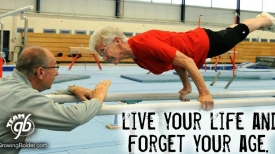 Gymnast Smashes Stereotypes of Aging